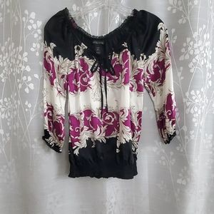 WHBM  peasant blouse